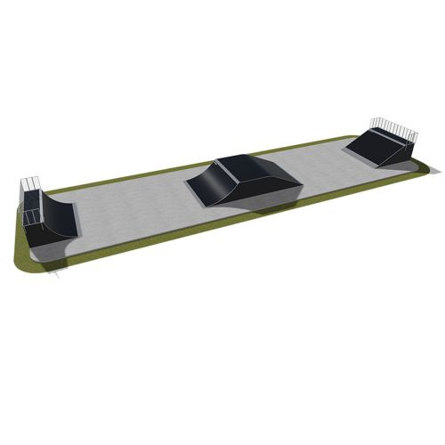 Sample modular skatepark 420115