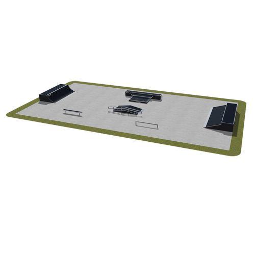 Sample modular skatepark 490115