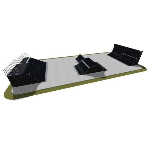 Sample modular skatepark 510115