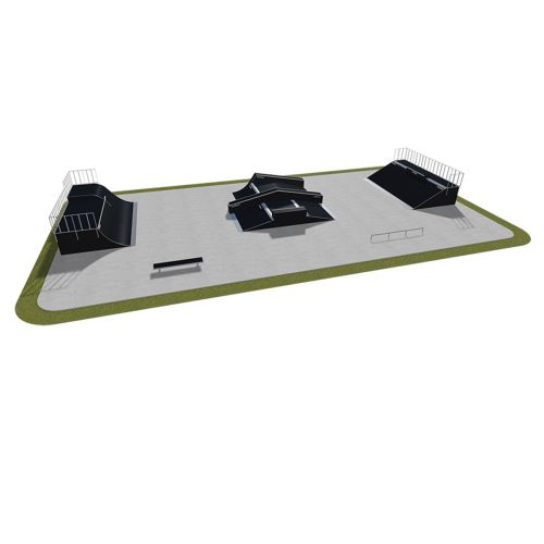 Sample modular skatepark 520115