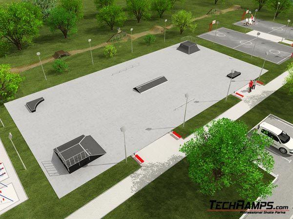 Sample skatepark no 080708