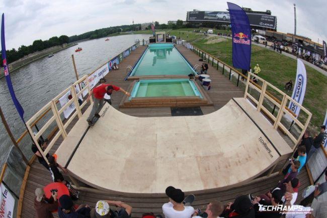 Skate-boat Contest - Krakow