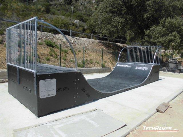 Skatepark Algatocin (Hiszpania)