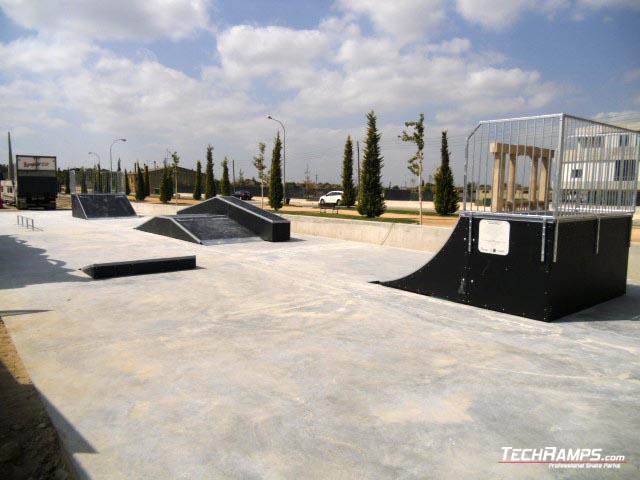 Skatepark Almacelles (Spain)