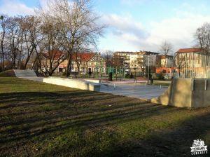 skatepark betonowy knurów
