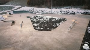 Skatepark Betonowy Monolityczny