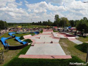 Skatepark betonowy Sławno