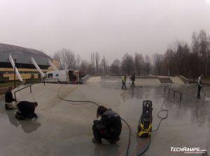 Skatepark betonowy w Oświecimiu