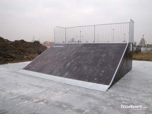 Skatepark Białobrzegi koło Łańcuta Bank ramp