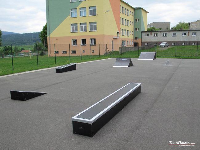 Skatepark Bystrzyca Kłodzka - rozbudowa