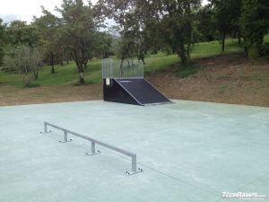 skatepark Chianciano Terme Włochy 5