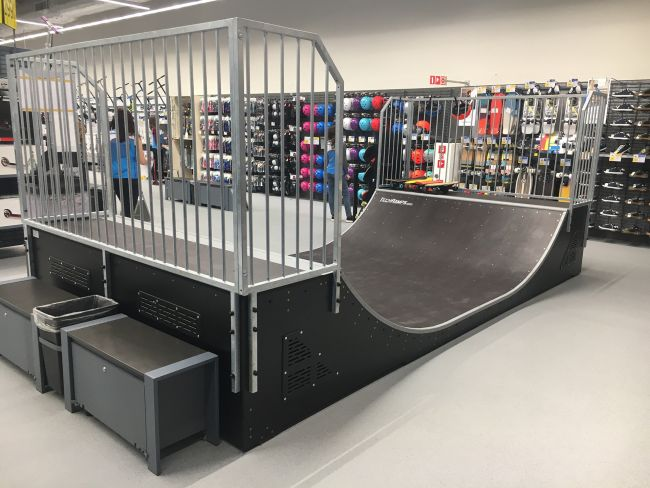 Skatepark Decathlon Wrocław