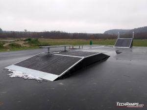 Skatepark elements Dobczyce