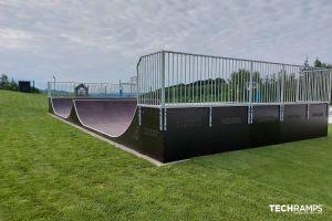 Skatepark i tre
