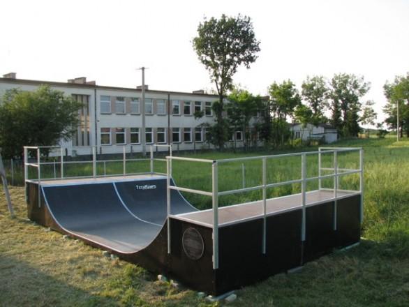 Skatepark in Aleksandrów Kujawski