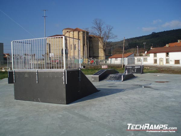 Skatepark in Arnuero - Spain