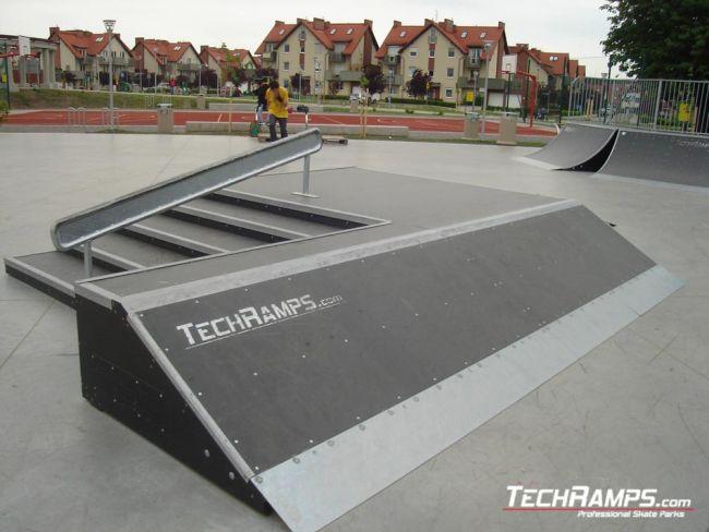 Skatepark in Bielany Wroclawskie