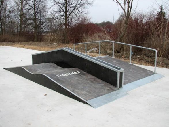 Skatepark in Dobre Miasto