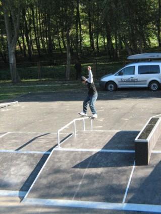 Skatepark in Głogów