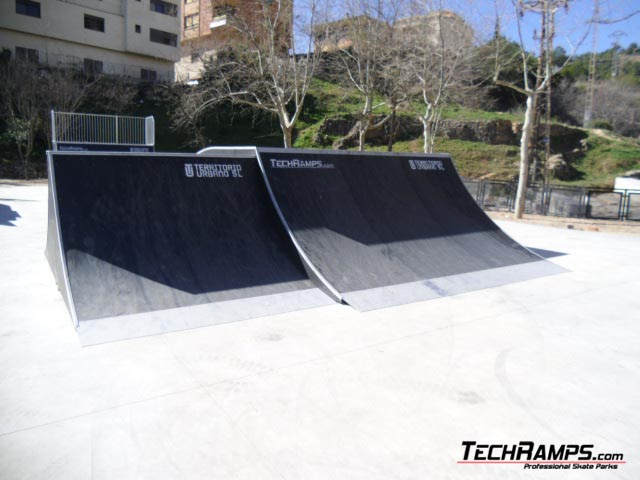 Skatepark in Hiszpania Alcora