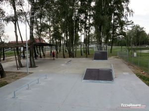 Skatepark in Kaźmierz