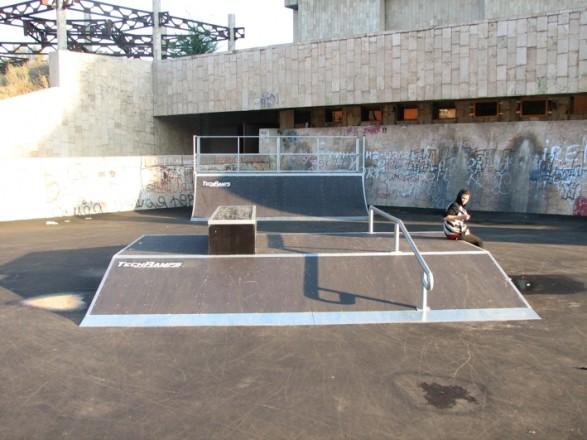 Skatepark in Kharkov - Ukraine