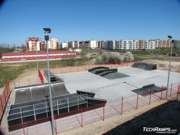 Skatepark in Koziegłowy - Czerwonak