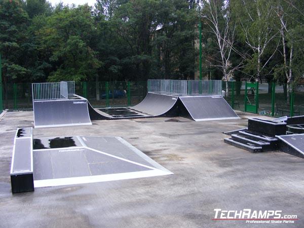 Skatepark in Krzywy Rog - Ukraine
