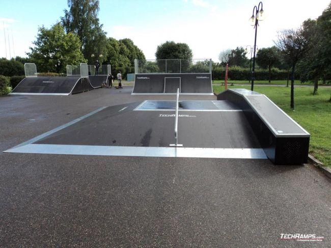 Skatepark in Kwidzyn