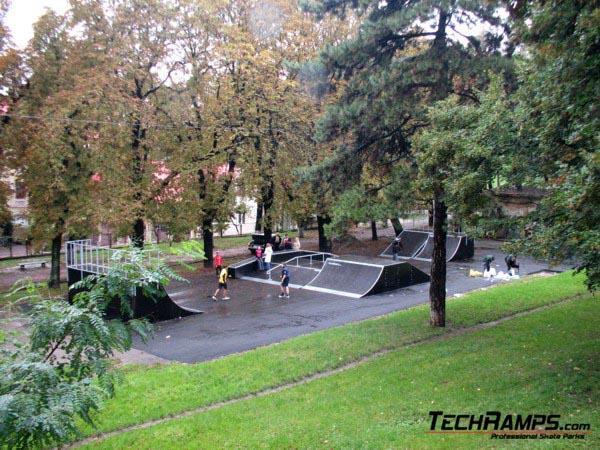 Skatepark in Lwow - Ukraine