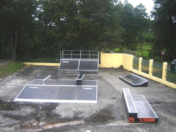 Skatepark in Majków