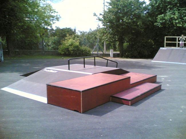 Skatepark in Marki