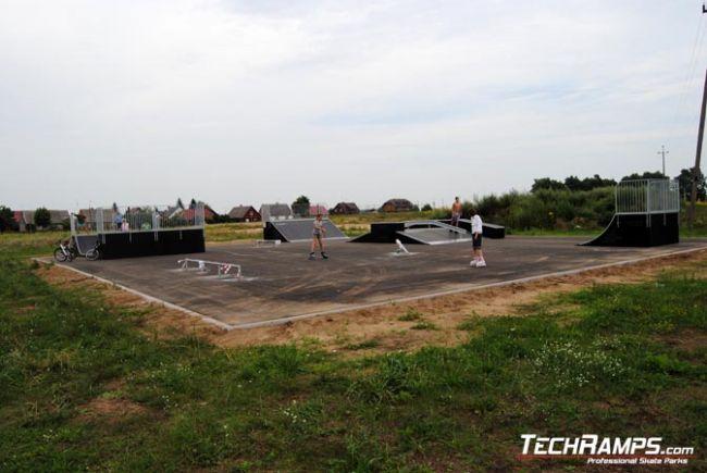 Skatepark in Michalowo