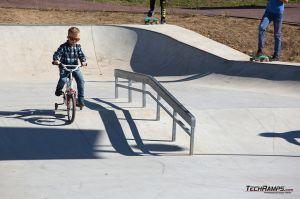 Skatepark in monolith technology - Maniowy