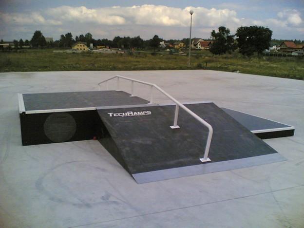 Skatepark in Morawia