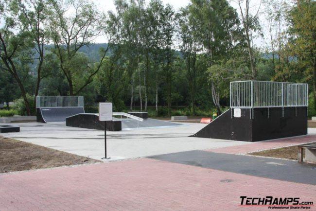 Skatepark in Myslenice