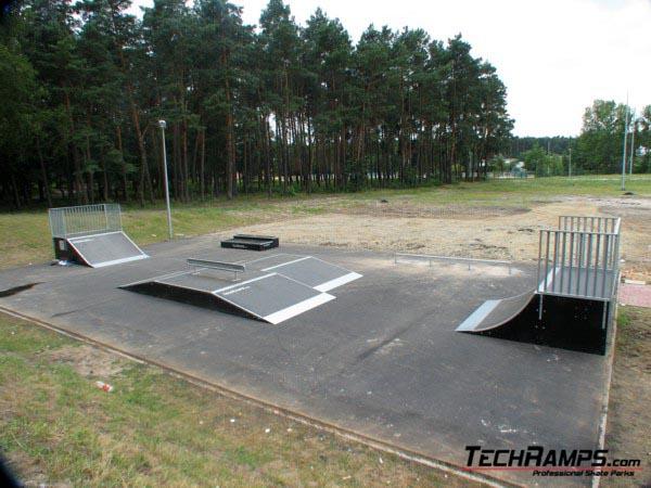 Skatepark in Nowa Deba