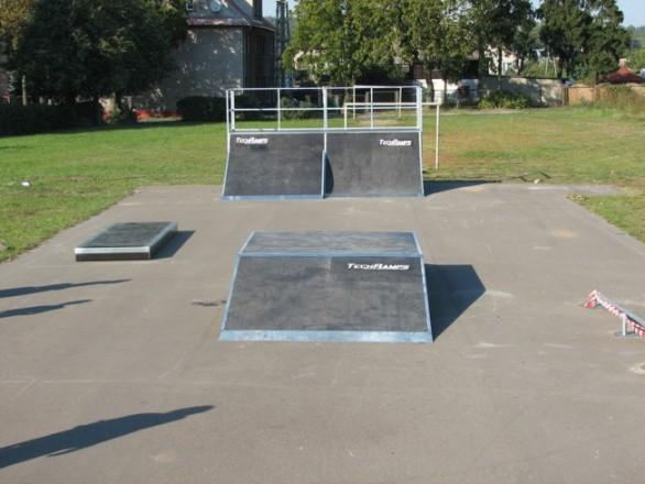 Skatepark in Okonek