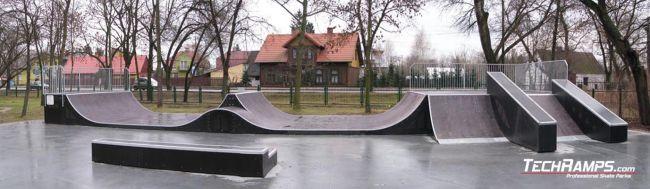 Skatepark in Ostrowii Mazowieckiej