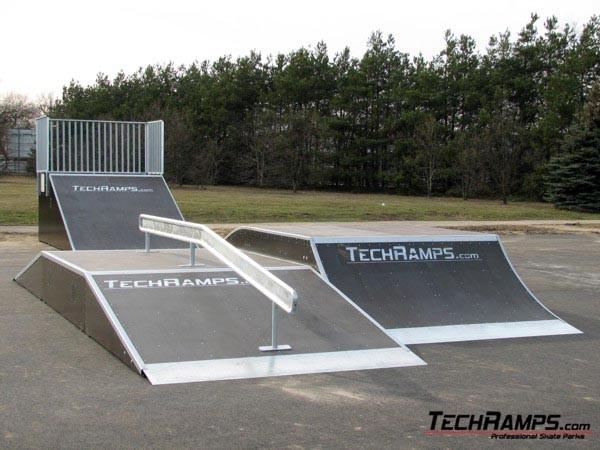 Skatepark in Pila