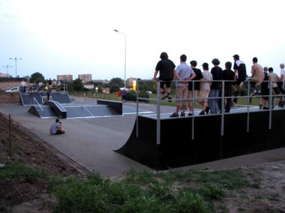 Skatepark in Piotrków Trybunalski