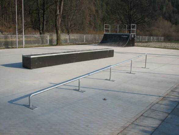 Skatepark in Piwniczna Zdrój