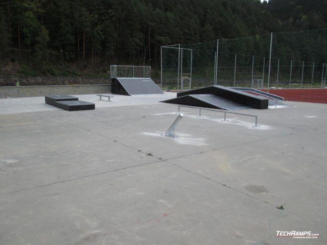 Skatepark in Piwniczna-Zdroj