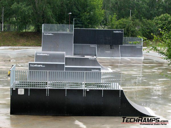 Skatepark in Poznan