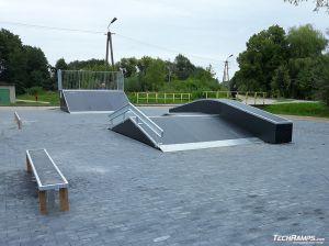 Skatepark in Prestige technology in Orzysz