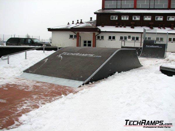 Skatepark in Rewal