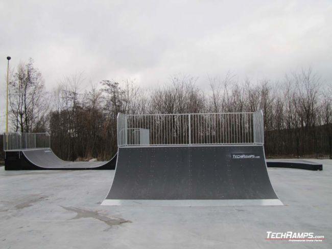Skatepark in Ślesin