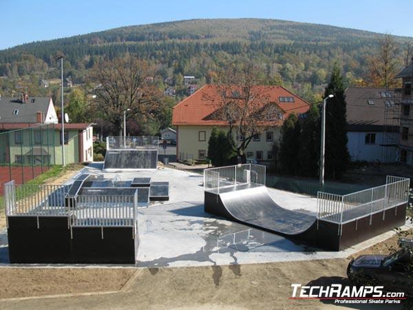 Skatepark in Swieradow Zdroj