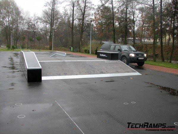 Skatepark in Szczercow