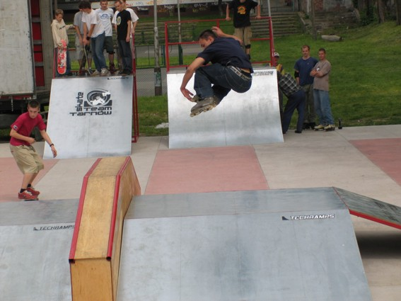 Skatepark in Tarnów
